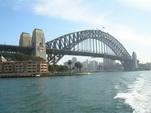 Harbour bridge in Sydney